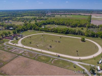 Marion County Farm For Sale: 10980 NE 36th Avenue
