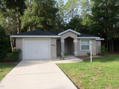Dunnellon Single Family Home For Sale: 10054 SW 188 Circle