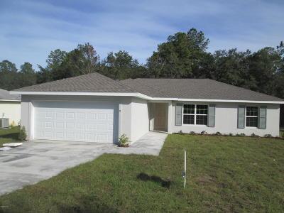 Ocala Single Family Home For Sale: 9 Fir Drive