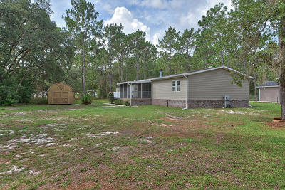 Dunnellon Single Family Home Pending: 19058 SW 44th Street