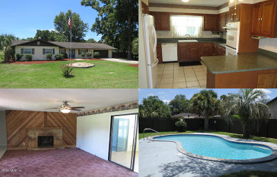 Ocala Single Family Home For Sale: 5560 SE 17th Street