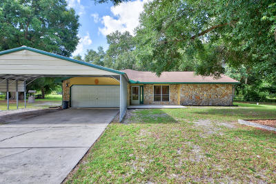 Summerfield Single Family Home For Sale: 2640 SE 157th Lane Road