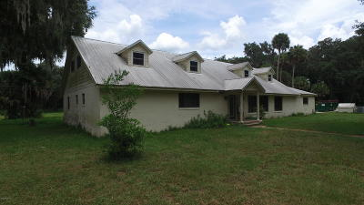 Citra Single Family Home For Sale: 4959 E Hwy 316