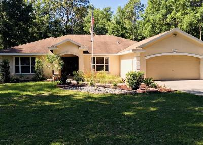 Ocala Single Family Home For Sale: 10592 NW 11th Place
