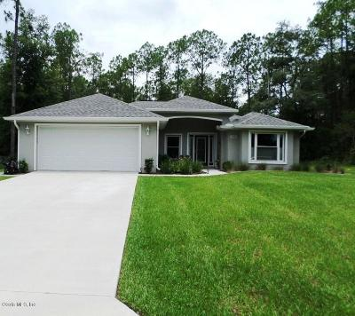 Citrus County Single Family Home For Sale: 10366 N Holcomb Drive