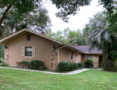 Dunnellon Single Family Home For Sale: 9178 N Commodore Drive