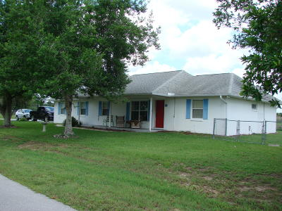 Ocala Single Family Home For Sale: 1 Almond Pass Drive