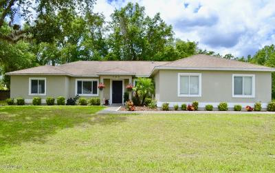 Ocala Single Family Home For Sale: 123 Bahia Trace