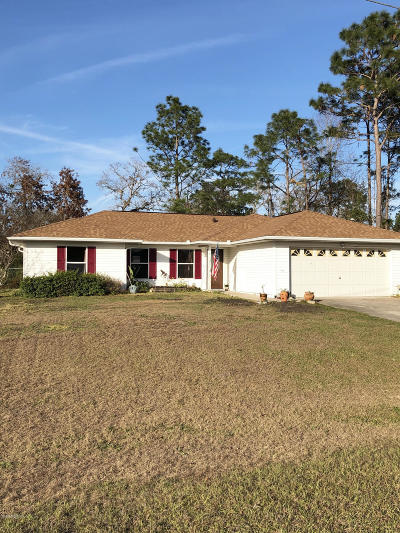 Ocala Single Family Home For Sale: 7112 Hemlock Loop
