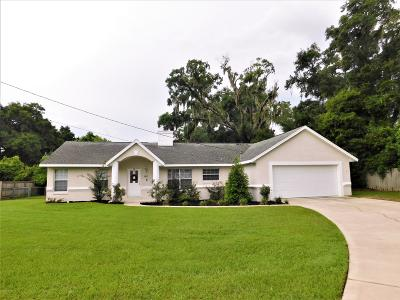 Ocala Single Family Home For Sale: 380 NE 53 Street