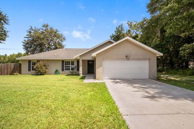 Ocala Single Family Home For Sale: 3 Dogwood Drive Radial