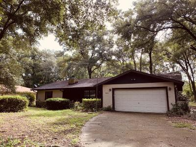 Marion County Single Family Home For Sale: 10625 SW 68th Terrace