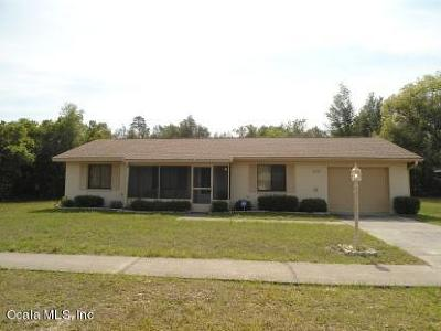 Ocala Single Family Home For Sale: 409 Marion Oaks Drive