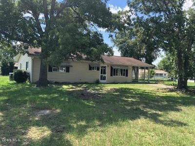 Ocala Single Family Home For Sale: 10974 SW 63rd Avenue