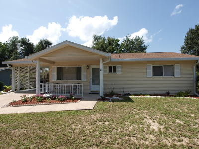Ocala Single Family Home For Sale: 8422 SW 107th Lane