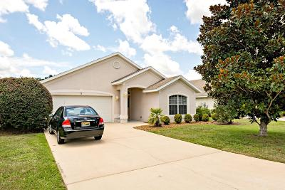 Ocala Single Family Home For Sale: 14 Sunrise Drive