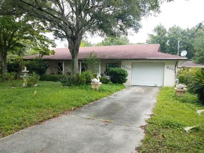 Belleview Single Family Home For Sale: 8131 E Hwy 25