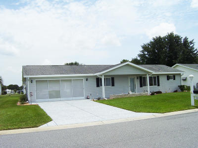 Summerfield FL Single Family Home For Sale: $135,000