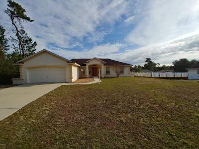 Ocala Single Family Home For Sale: 15119 SW 29th Avenue Road