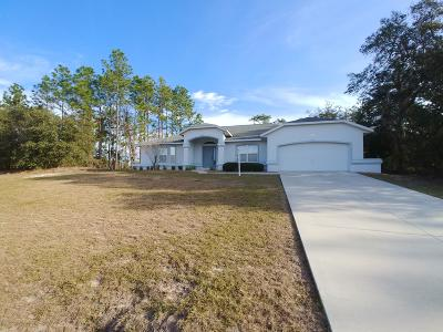 Ocala Single Family Home For Sale: 6205 SW 154th Lane Road