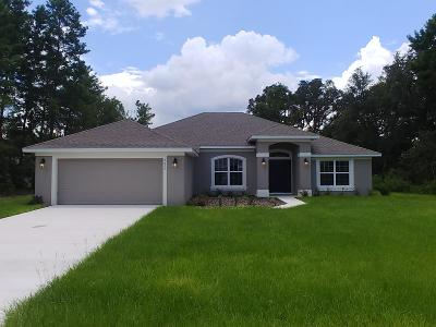 Ocala Single Family Home For Sale: 4830 SW 110th Lane
