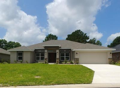 Ocala Single Family Home For Sale: 80 Diamond Club Road