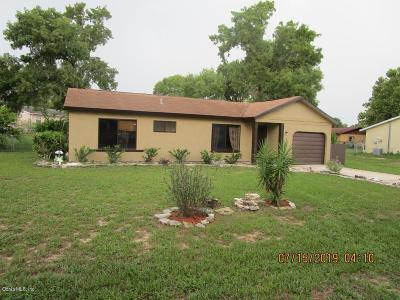 Ocala Single Family Home For Sale: 8970 SE 90th Avenue Road