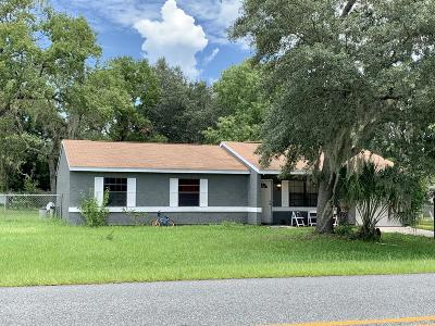 Ocala Single Family Home For Sale: 300 Bahia Circle Circle