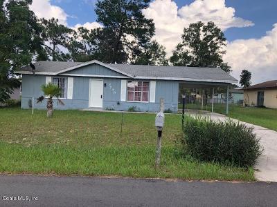 Ocala Single Family Home For Sale: 8789 SE 88th Lane