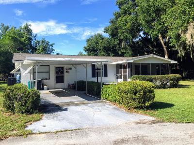 Citrus County Single Family Home For Sale: 10512 E Peace Court Court