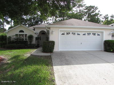 Ocala Single Family Home For Sale: 11709 SW 72nd Circle