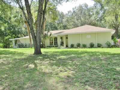 Dunnellon Single Family Home For Sale: 9827 SW 201st Court