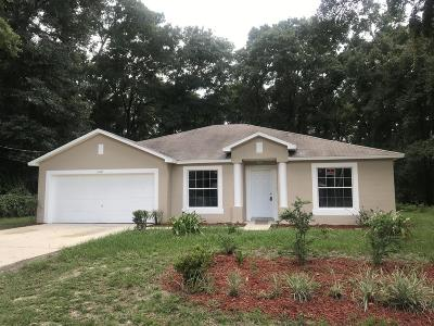 Ocala Rental For Rent: 5472 NW 54th Place