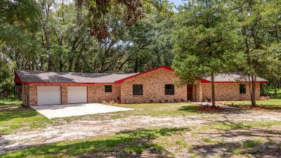 Ocala Single Family Home For Sale: 6910 NW 57th Avenue