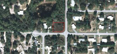 Marion County Residential Lots & Land For Sale: SE 183rd Court