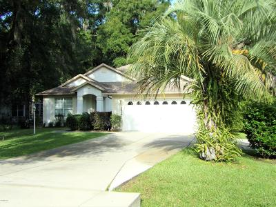 Dunnellon Single Family Home For Sale: 10040 SW 190th Court