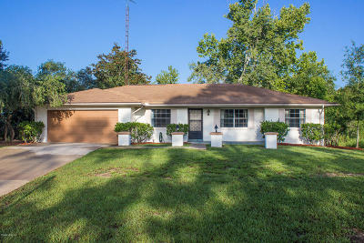 Ocala Single Family Home For Sale: 432 Marion Oaks Lane