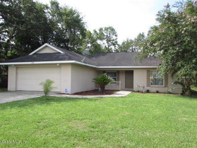 Ocala Single Family Home For Sale: 5806 SW 115th Street Road