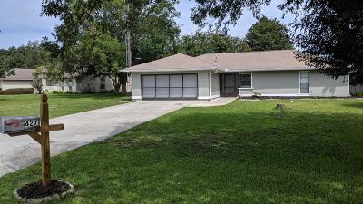 Ocala Single Family Home For Sale: 427 SW Marion Oaks Golf Way