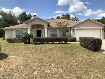 Ocala Single Family Home For Sale: 4359 SW 102nd Lane Road