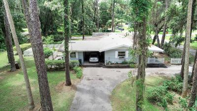 Dunnellon Single Family Home For Sale: 19934 Oak Street