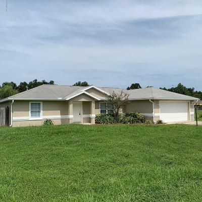 Ocala Single Family Home For Sale: 13294 SW 2nd Court