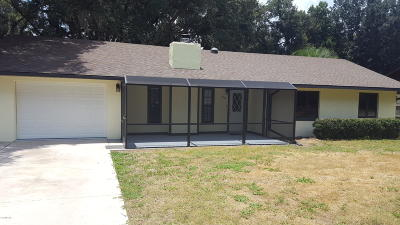 Ocala Single Family Home For Sale: 3786 NE 28th Court