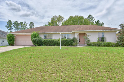 Ocala Single Family Home For Sale: 8484 SW 136th Place