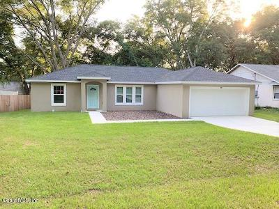 Ocala Single Family Home For Sale: 52 Almond Pass Drive