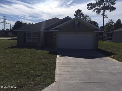 Ocala Single Family Home For Sale: 4634 SE 27th Street