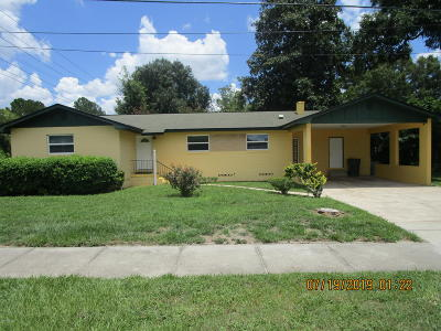 Ocala Single Family Home For Sale: 505 SW 19th Avenue