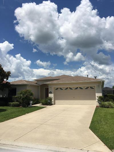 Ocala Single Family Home For Sale: 15843 SW 11th Terrace Road