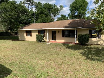 Ocala Single Family Home For Sale: 6301 NW 65th Avenue
