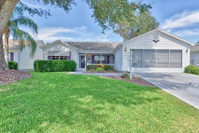 The Villages Single Family Home For Sale: 3502 Forsythe Terrace